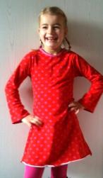 rood jurkje 1